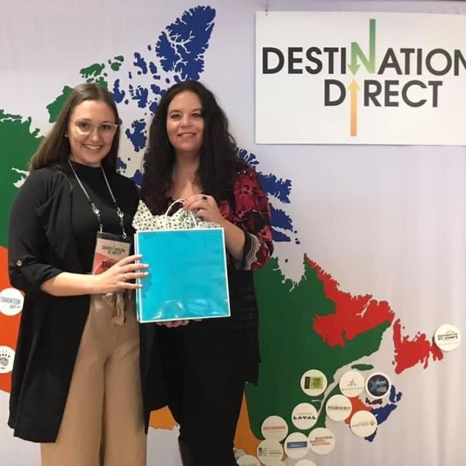 Destination Direct Contest Winner with Encore Audio Visual - Ottawa