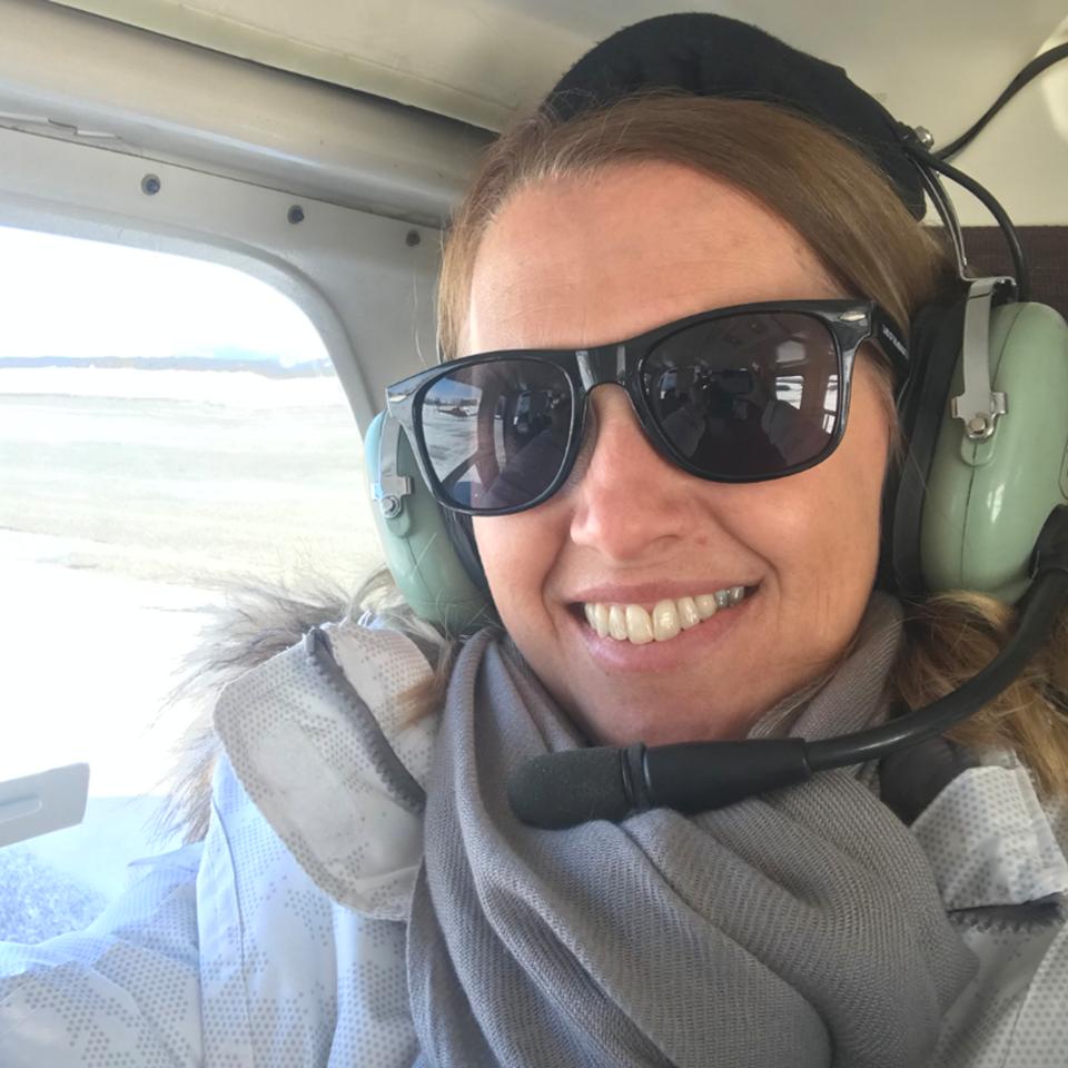 Flying into Yukon - FAM Trip