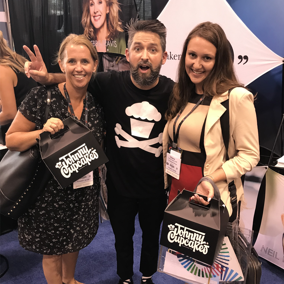 Johnny Cupcakes at Meeting Incentive Convention & Exhibition