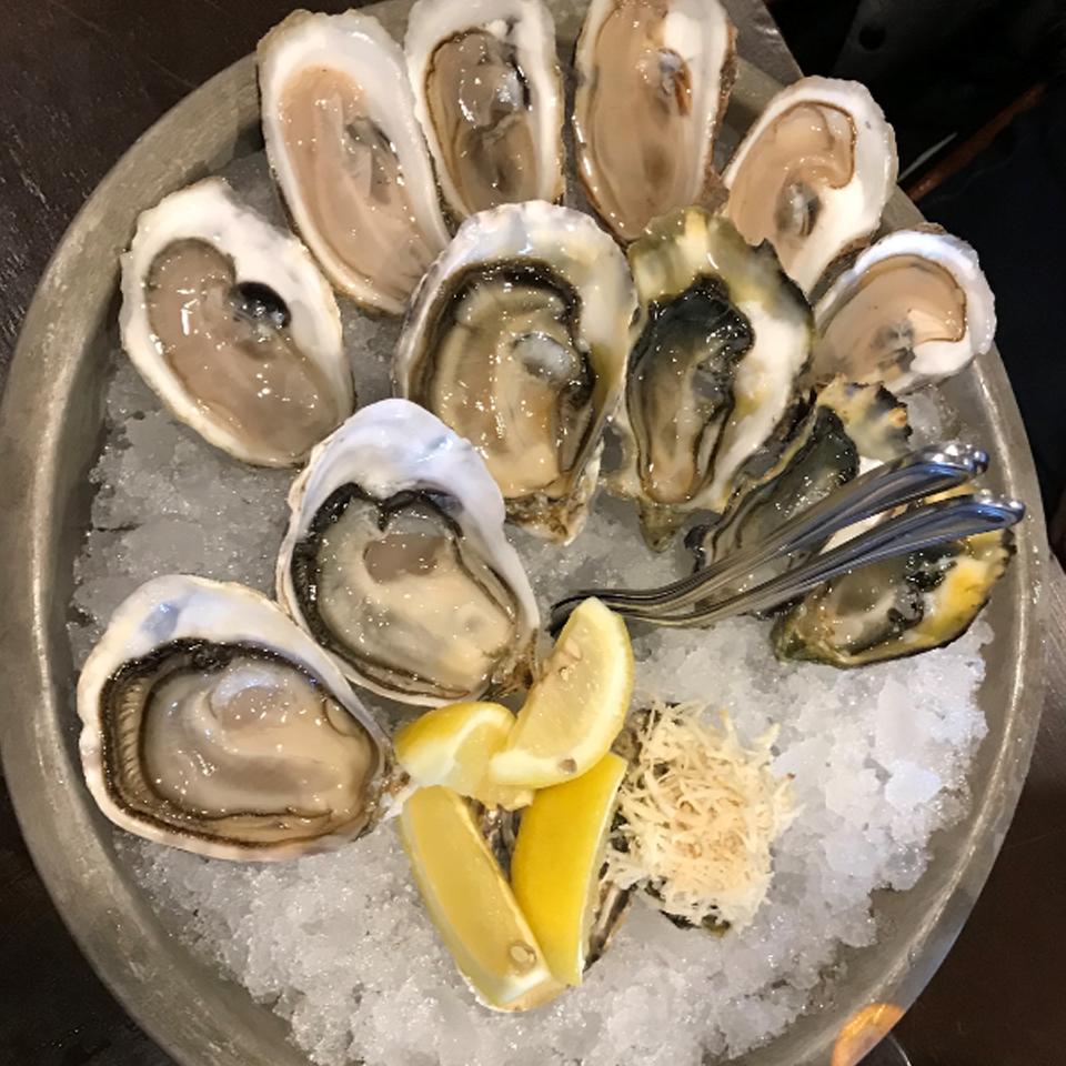 Oysters in Yukon