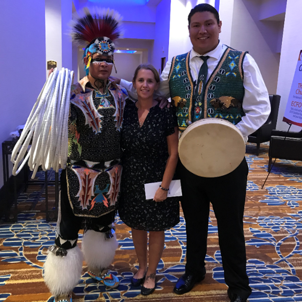 First Nations Dancers at Welcome Reception in Calgary